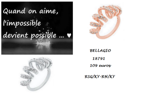 Bellagio bague 18792