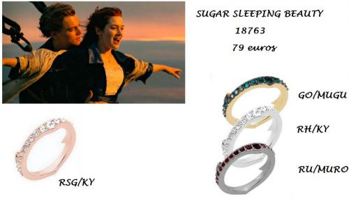 Sugar sleeping beauty bague 18763